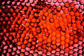 rote Kugeln als Hintergrund