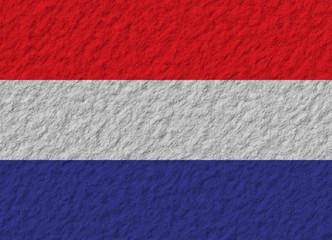 Netherlands flag stone