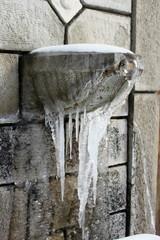 Frozen Drinking Fountain