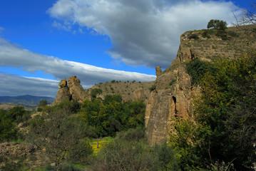 Sierra de Pizarra, Tajos, Pizarra, Málaga