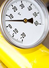 gas temperature measurement
