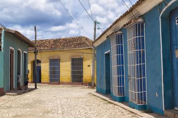 Colonial houses in Trinidad, Cuba