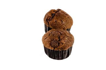 Frisch Gebackene Schokoladenmuffins