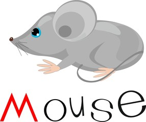 Mouse with title
