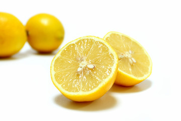 Zitrone Limone Frucht sauer Essen