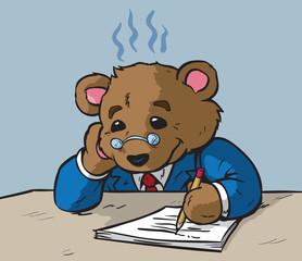 Worried Teddy Bear