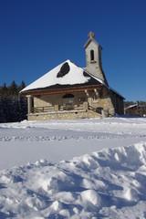 église  de la féclaz -savoie