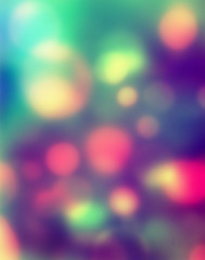 Abstract bright light as romantic background