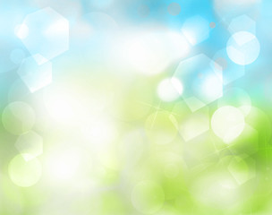 Natural green blue as abstract background