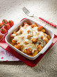 sorrentina gnocchi with mozzarella and tomato