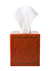 Tissue Box isolated