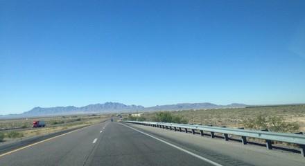 Interstate 10 west Texas
