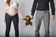 Eltern erwarten das Baby