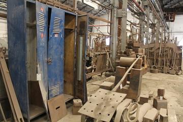 Old disused blacksmiths workshop
