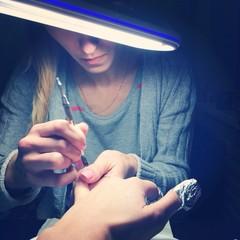 master make shillac manicure