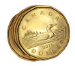 Canadian dollar coins