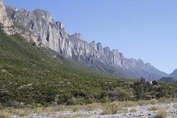 La Huasteca mounting - climbing monterrey