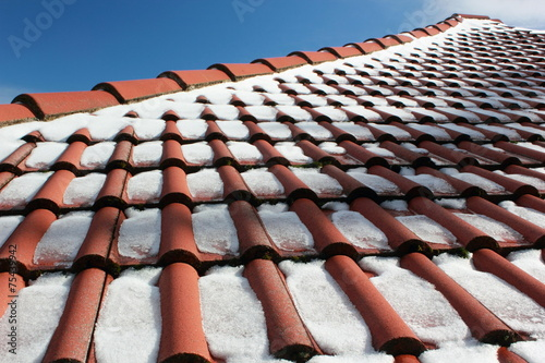 Snow On The Roof - 75439942