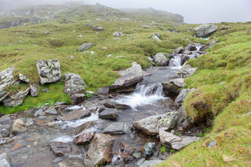 small river in mountain
