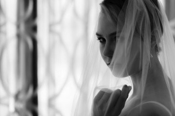 Woman and veil