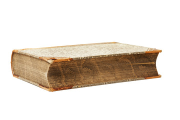 Very old book isolated
