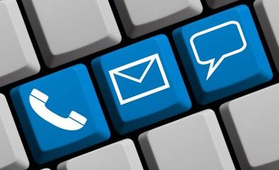 So erreichen Sie uns: Online Kontakt