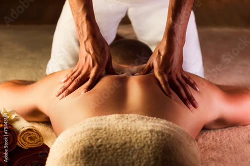 Papiers peints Gymnastique Deep tissue massage