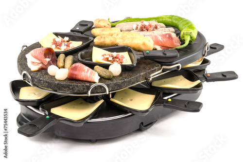 Keuken foto achterwand Grill / Barbecue Raclette