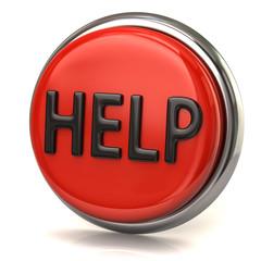 Red help button