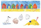 Beach-huts