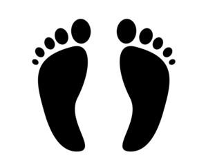 impronte piedi