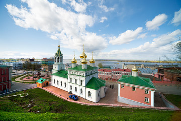 Church Of Nativity Of John Baptist. Russia, Nizhny Novgorod
