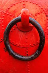 closeup of buoy