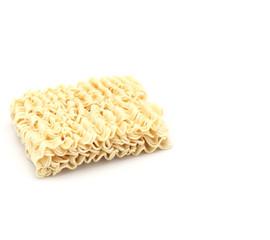 Dry noodles.