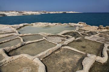 Salt pans, Peter's Pool, Malta