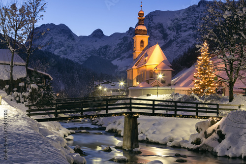 Poster Alpen Ramsau