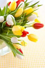 Frische Tulpen zu Ostern