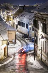 Street in Sibiu