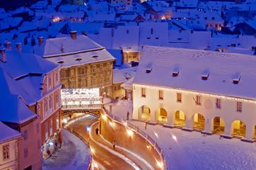 Sibiu in winter