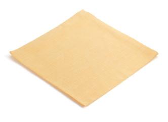 napkin on white background