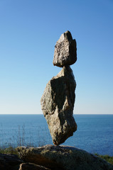 Felsen im Gleichgewicht