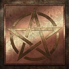 Pentagramm Metallplatte Kupfer.jpg