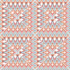 Patchwork design seamless geometrical pattern background