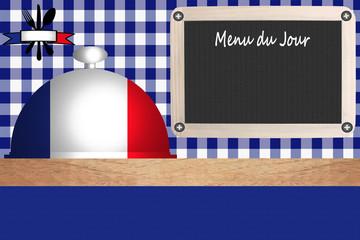 Cuisine Française - Restaurant - Menu du Jour