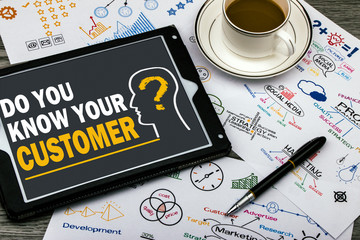 do you know your customer