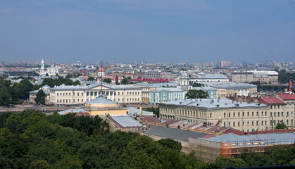 View from St. Isaac's Cathedral, St. Petersburg