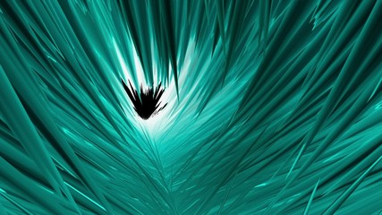 Abstract background in cyan color