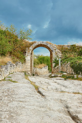 gateway to the ancient city