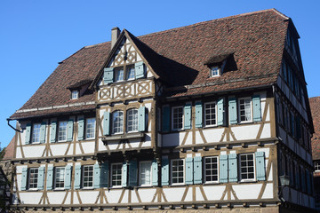 Fachwerkhaus im Kloster Maulbronn