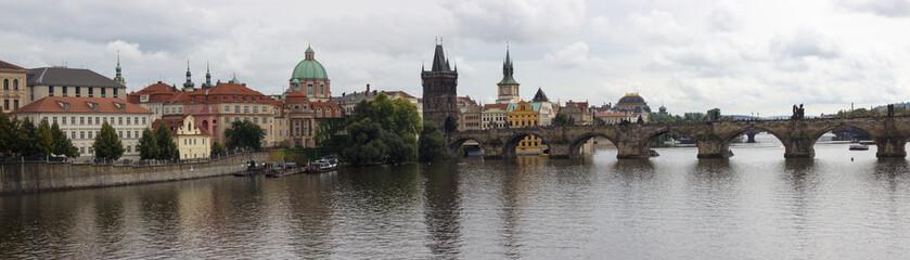 Prague, CZ - Aug 31, 2014: Charles Bridge